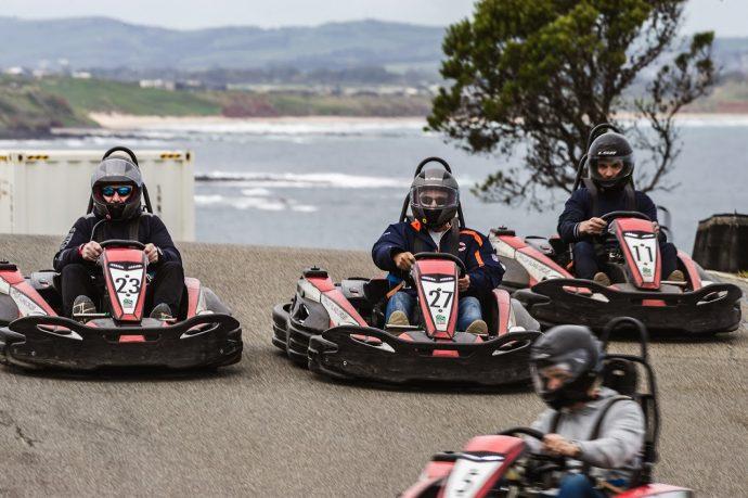 Go-Kart race challenges